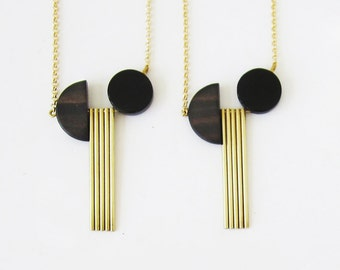 Vassili sticks necklace