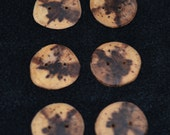 Items Similar To Wood Button Handmade Wooden Buttons 1