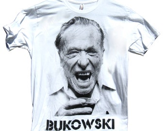 Charles Bukowski T-Shirt sizes S-M-L-XL