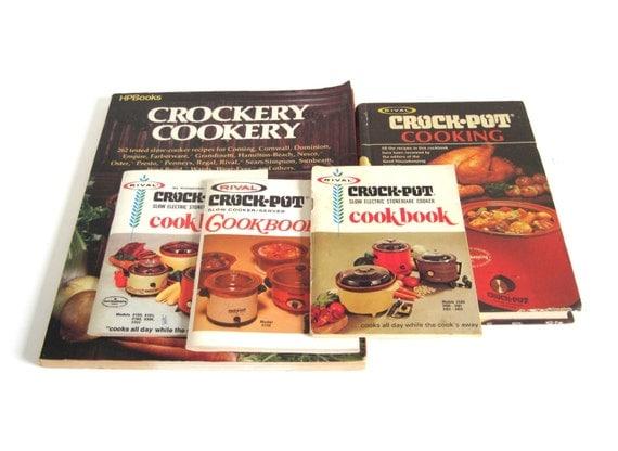 Rival Crock Pot Recipes Instructions 3154 3150 3350 3300 3100 3101 3102 3302 3355 3104 / Crockpot Cookbook w/ Bread N Cake Recipes Cookbooks