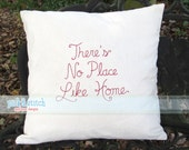There's No Place Like Home Bean Stitch Vintage Embroidery Design Machine Embroidery INSTANT DOWNLOAD