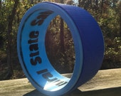 "Hand made 9.25""diameter 4""wide MINI heavy duty yoga wheel/foam roller made from repurposed pipe"