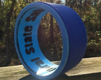 "CLEARANCE- Hand made 9.25""diameter 4""wide MINI heavy duty yoga wheel/foam roller made from repurposed pipe"