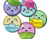KAWAII SMILEY Personalized stickers for Teachers