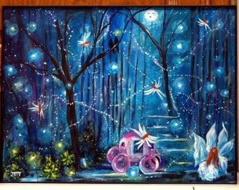 Fantasy Forest Art Enchanted Forest Art Magical Forest Art
