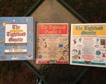 Tightwad Gazette, set of Tightwad Gazette books