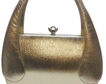 Vintage 50s Bags by FRANCOIS of California Gold MOD Bag