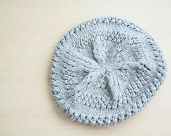 Gray beret