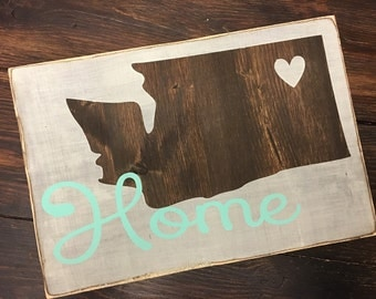Home {state} sign