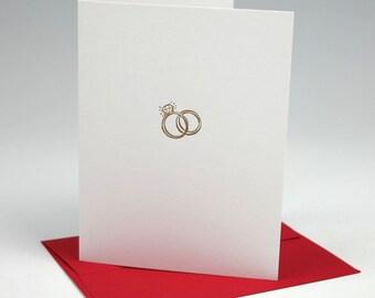 Wedding Congratulations Letterpress Card