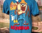 1991 Georgia x Taz t-shirt, large
