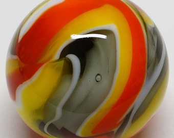 "Winlock Marbles ~ Contemporary Marbles ~ Handmade Glass Art Marble ~ Contemporary Glass Art Marble ~ 1"""