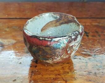 Raku Tea Bowl : Madness