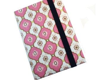Ipad Pro 9.7 12.9 iPad Mini Air 2 3 4 Floral Hard Case, iPad Cover, iPad Sleeve, i Pad stand up Retro Pink Tiles Ipad Pro Mini 4