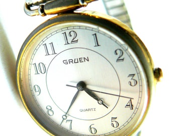 Gruen Vintage women's bracelet Wrist Watch vintage Gruen ladies watch