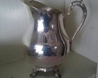 F B Rogers Silver Co Water Pitcher