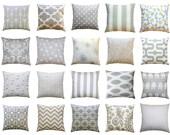 Euro Sham, Storm Grey Pillow Cover, 26x26 Zippered Pillow, Toss Pillows, Decorative Throw Pillows, Grey Home Decor, Large Grey Bed Pillows