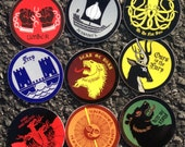 Game of Thrones Sigil Stickers