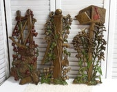 Country Wall Plaques Wall Decor x3 Burwood Products Co.