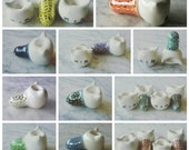 MADE TO ORDER Choose Your Color Ceramic Kitty Piece