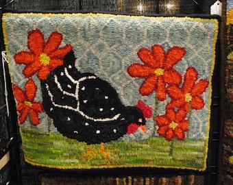 Black and White Chicken