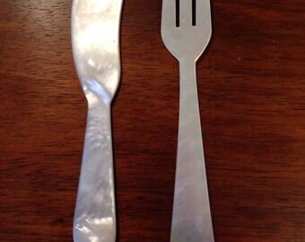 Beautiful Translucent cutlery spread set