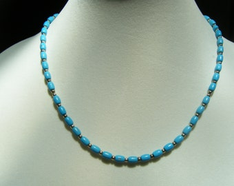 Chalk Turquoise Necklace