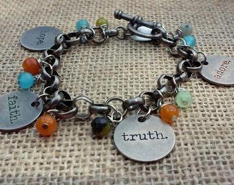 Charm Bracelet, Statement Bracelet