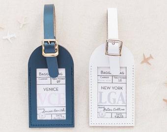 Wedding Favors - Baggage Claim Escort Card