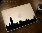New York Skyline Macbook Decal #1 | Macbook Sticker | Laptop Decal | Laptop Sticker | Car Sticker