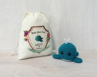 Wally the Whale DIY Crochet Kit