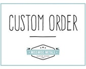 Custom Pet Tag Order for RUTH Only Please