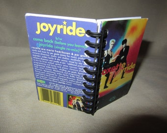 "Roxette ""Joyride"" Mini Notebook"