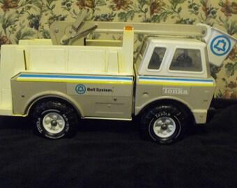 Vintage 70s Huge Tonka Bell System Truck