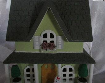 VICTORIAN HOUSE NIGHT Light