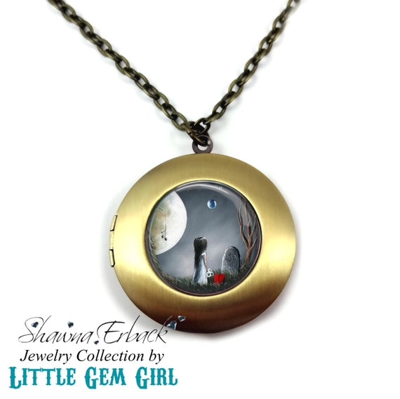 Memorial Locket Loss of Father Jewelry God Must Need You