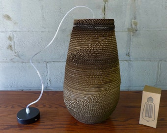 Corrugated Cardboard Pendant Lamp