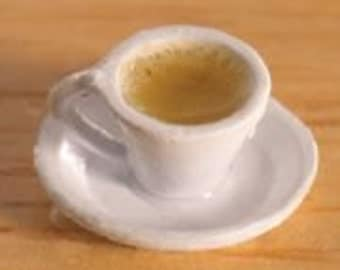 Dolls House Miniature Cup of Tea
