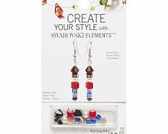 Swarovski Crystal Earring kit Toy Soldiers Christmas Gift