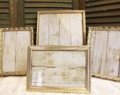 Instant Picture Frame Collection - Gold Metal Frames - Vintage Photo Frames