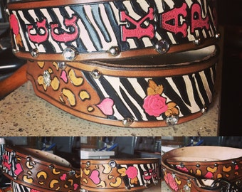 Custom Patchwork Belt - Made to Order