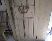 Reserved for John Primitive Eagle Claw Clam Rake .WITH HANDLE REMOVED. Rustic Home Decor. Hand Crafted Rake. Eagle Claw Rake