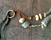 Antler Jewelry Boho Necklace