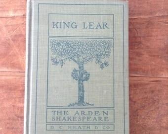 Journal, King Lear vintage Shakespeare Journal
