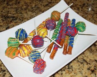 Rainbow Candy Buffet, Rainbow Party Favors
