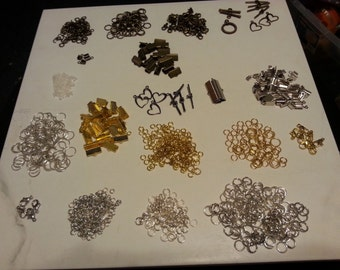 STORE CLOSING Jewelry Findings Lot , Destash