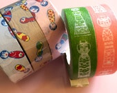 Washi Tape Bundle - Japanese Kokeshi Dolls