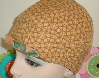 Chemo Hat SALE Cancer Cap Hair Loss Handmade in the USA (For Size guide, see 'Item Details' below photos)  SMALL
