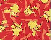 Pokemon Pikachu Toss On Red From Robert Kaufman