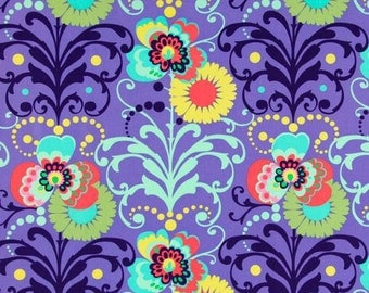 Fat Quarter ONLY - Amy Butler's Love Paradise Garden on Periwinkle